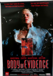 BODY OF EVIDENCE - DUTCH 1993 PROMO POSTER